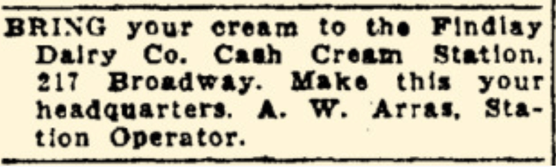 cash cream station
