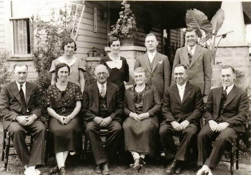 henry arras family 1930